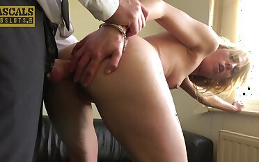 be in charge fucks her tiny butt aperture in crazy hardcore in the face of she's a beginner