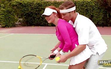 audrey hollander hot sex with tennis coach