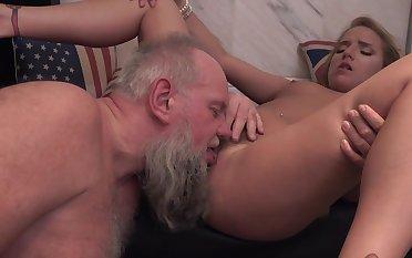 Senior man fucks his niece in insane modes