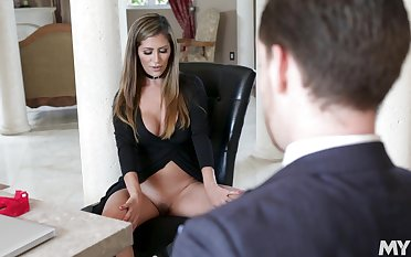 stunning light-complexioned Alexxa Vega rides a stranger's dick like no one before