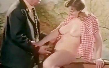 Vintage Aged Man Fuck in Cabaret
