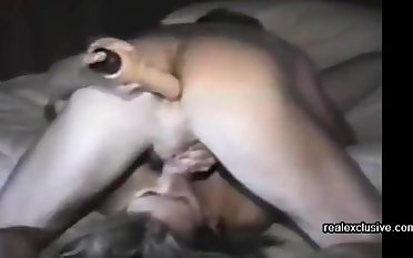 Back to 1994. A friend filmed me and my anal unbowdlerized cum floozy and wife Tracey.