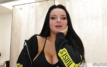 Polish adult model Payton Preslee gives an interview